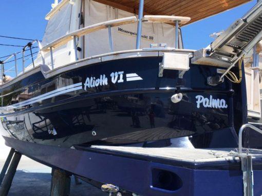 Embarcación Alioth