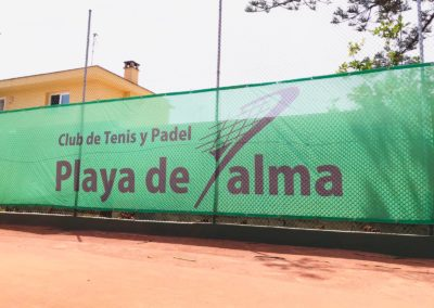 Lona Club de tenis Playa de Palma